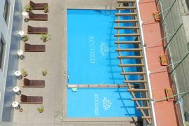 hotel Accord Puducherry Pondichery la piscine