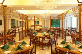 hotel Accord Puducherry Pondichery la salle de restaurant